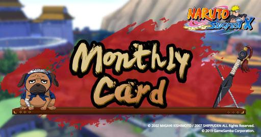 Naruto Slugfest X Monthly Card